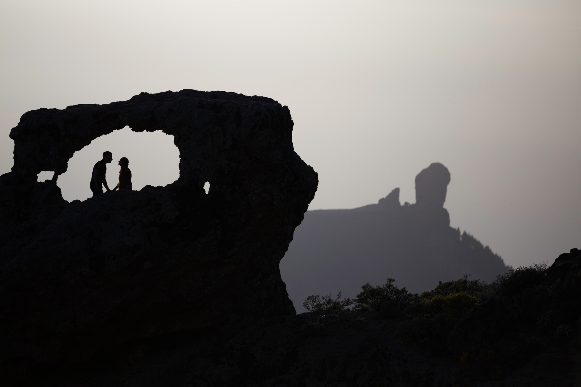 Boda en Tejeda, Gran Canaria