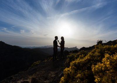 Preboda en Tejeda, Gran Canaria